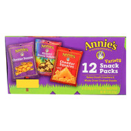 Annie's Homegrown Variety Snack Packs - Case Of 6 - 40 Bags