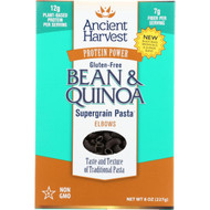 Ancient Harvest Pasta - Supergrain - Black Bean And Quinoa Elbows - Gluten Free - 8 Oz - Case Of 6