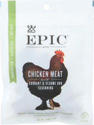 Epic Jerky Bites - Chicken Currant Bbq - Case Of 8 - 2.5 Oz.