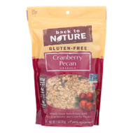 Back To Nature Cranberry Pecan Granola - Whole Grain Rolled Oats With Tart Cranberries And Crunchy Pecans - Case Of 6 - 11 Oz.