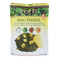 Jyoti Cuisine India Saag Paneer - Case Of 6 - 10 Oz.