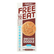 Cybel's Free To Eat Snickerdoodle Cookies - Case Of 6 - 6 Oz.