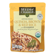 Organic Quinoa; Brown  With Flaxseed