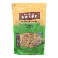 Back To Nature Classic Granola - Lightly Sweetened Whole Grain Rolled Oats - Case Of 6 - 12.5 Oz.