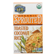 Organic Sprouted Rice; Toasted Coconut
