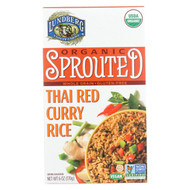Organic Sprouted Rice; Thai Red Curry