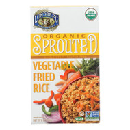Organic Sprouted Rice; Vegetable Fried