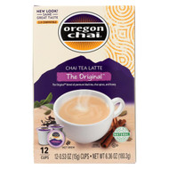 Oregon Chai Oregon Chai Single - Cups Serve - Case Of 6 - 0.53 Oz.
