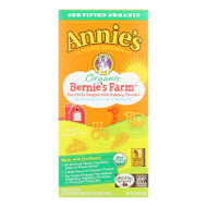 Annie's Homegrown Bernie's Farm Macaroni And Cheese Shapes - Case Of 12 - 6 Oz. - 1256999