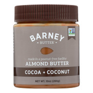 Barney Butter Almond Butter - Cocoa Coconut - Case Of 6 - 10 Oz.