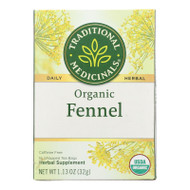 Traditional Medicinals Organic Herbal Tea - Fennel - Case Of 6 - 16 Bags