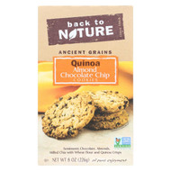 Back To Nature Quinoa Almond Chocolate Chip - Case Of 6 - 8 Oz.