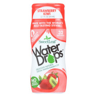 Sweet Leaf Stevia Water Enhancer Water Drops - Strawberry And Kiwi - Case Of 6 - 2.1 Fl Oz.