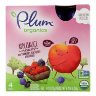 Plum Kids Mashups Squeezable Fruit - Berry - Case Of 6 - 3.17 Oz.