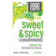 Green Tea; Decaf Sweet & Spicy