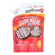 Yumbutter Superfood - Peanut Butter - Case Of 6 - 7 Oz.