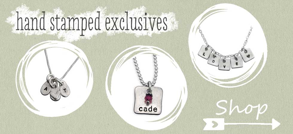 Exclusive Hand Stamped Jewelry Designs