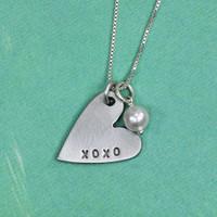 XOXO Necklace