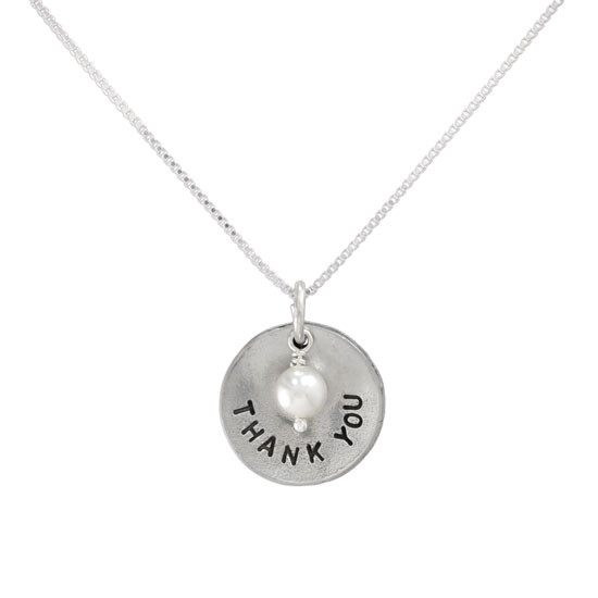 End of year teacher necklace