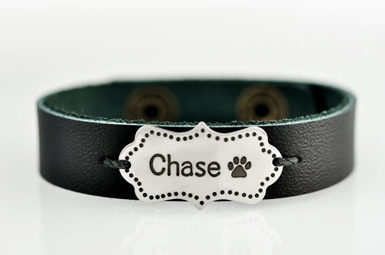 Pet lover bracelet cuff