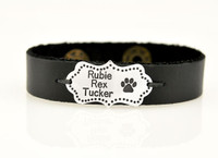 3 pet names on bracelet