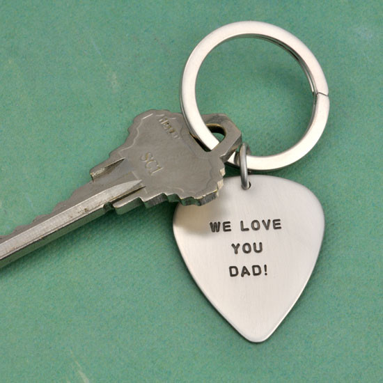 Sterling personalized guitar pick