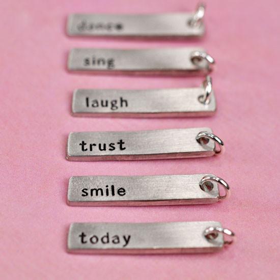 inspirational charms