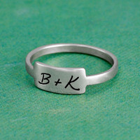 Love note on a ring