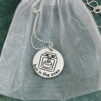 Bun In The Oven Pregnancy Necklace