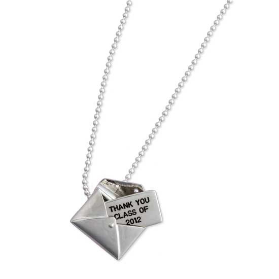 Envelope with Your Message Necklace