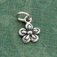 Five Petal Flower Charm