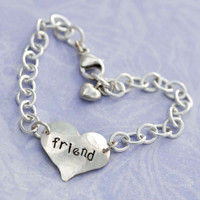 Heart On Your Wrist Friend Bracelet