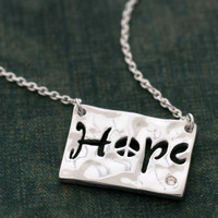 Hope Cutout Necklace