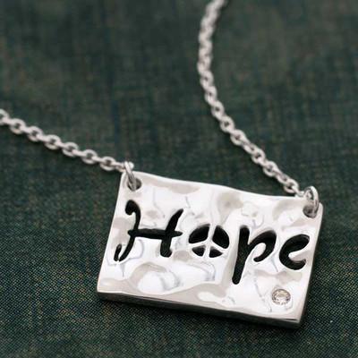 Hope Cutout Necklace