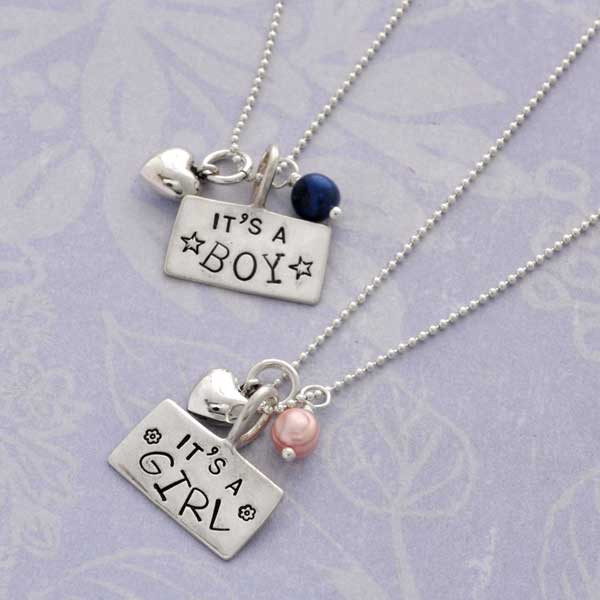 It's a Girl/It's a Boy Necklace