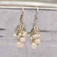 Lotsa Pearls Earrings