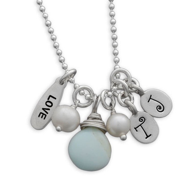 Love Forever Initials Necklace