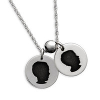 My Child's Cameo Necklace