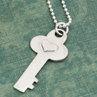 My Key, My Heart Necklace