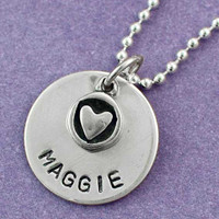 Name Disc with Dangle