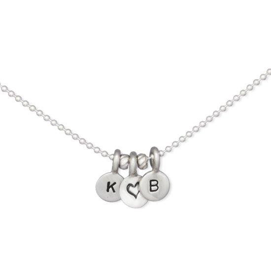 Our Tiniest Initials Necklace