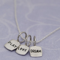 Play Love Dream Reversible Necklace