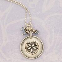 Vintage Sand Dollar Necklace