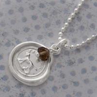 Wax Seal Necklace - Faithful
