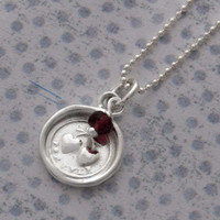 Wax Seal Necklace - Forever