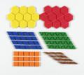 3-D Pattern Blocks Desk Top Set