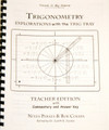 Trig Tray Teacher's Guide