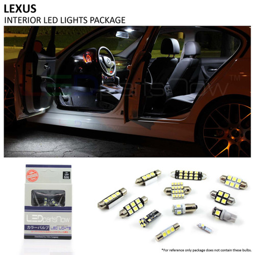 20062013 Lexus IS250 IS350 ISF Interior LED Lights Package