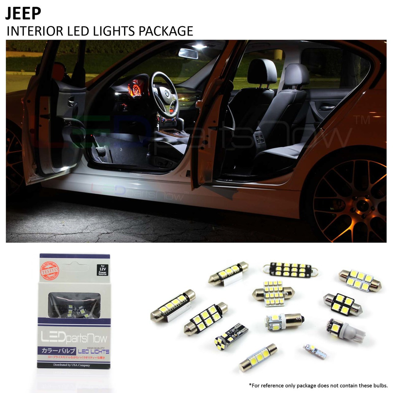 2015 And Up Jeep Renegade Interior Led Lights Package