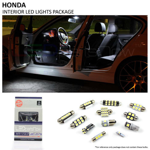 Honda Accord Coupe LED Interior Lights Package (2003 2012)